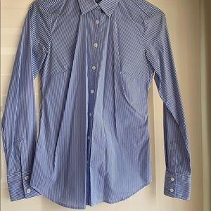 ANN TAYLOR Sz 0 blouse